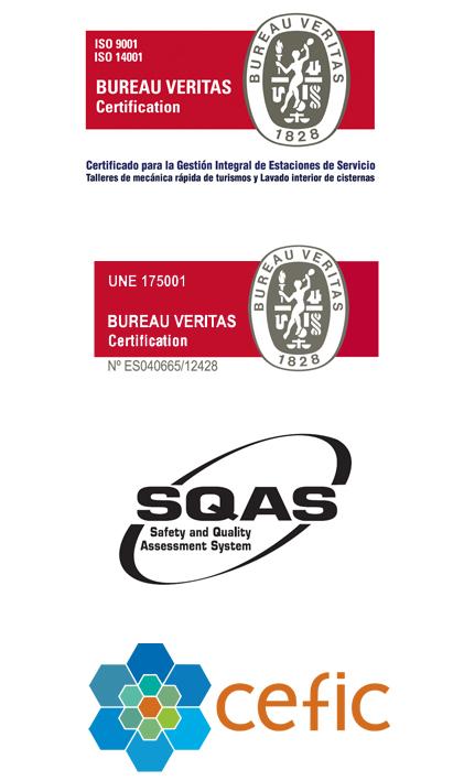 Iso 9001 14001 175001 SQAS EFIC